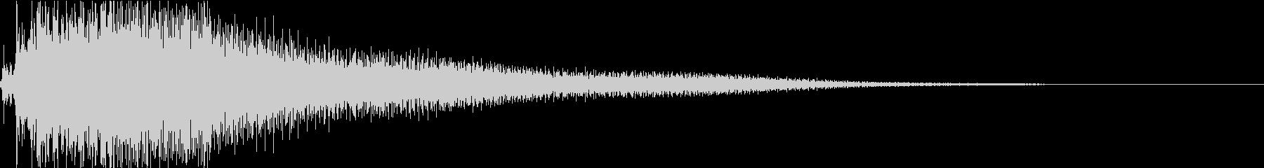 ジャラーン:アコースティックギターhの未再生の波形
