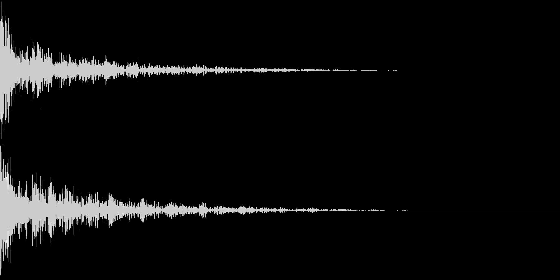 ドーン-41-2(インパクト音)の未再生の波形