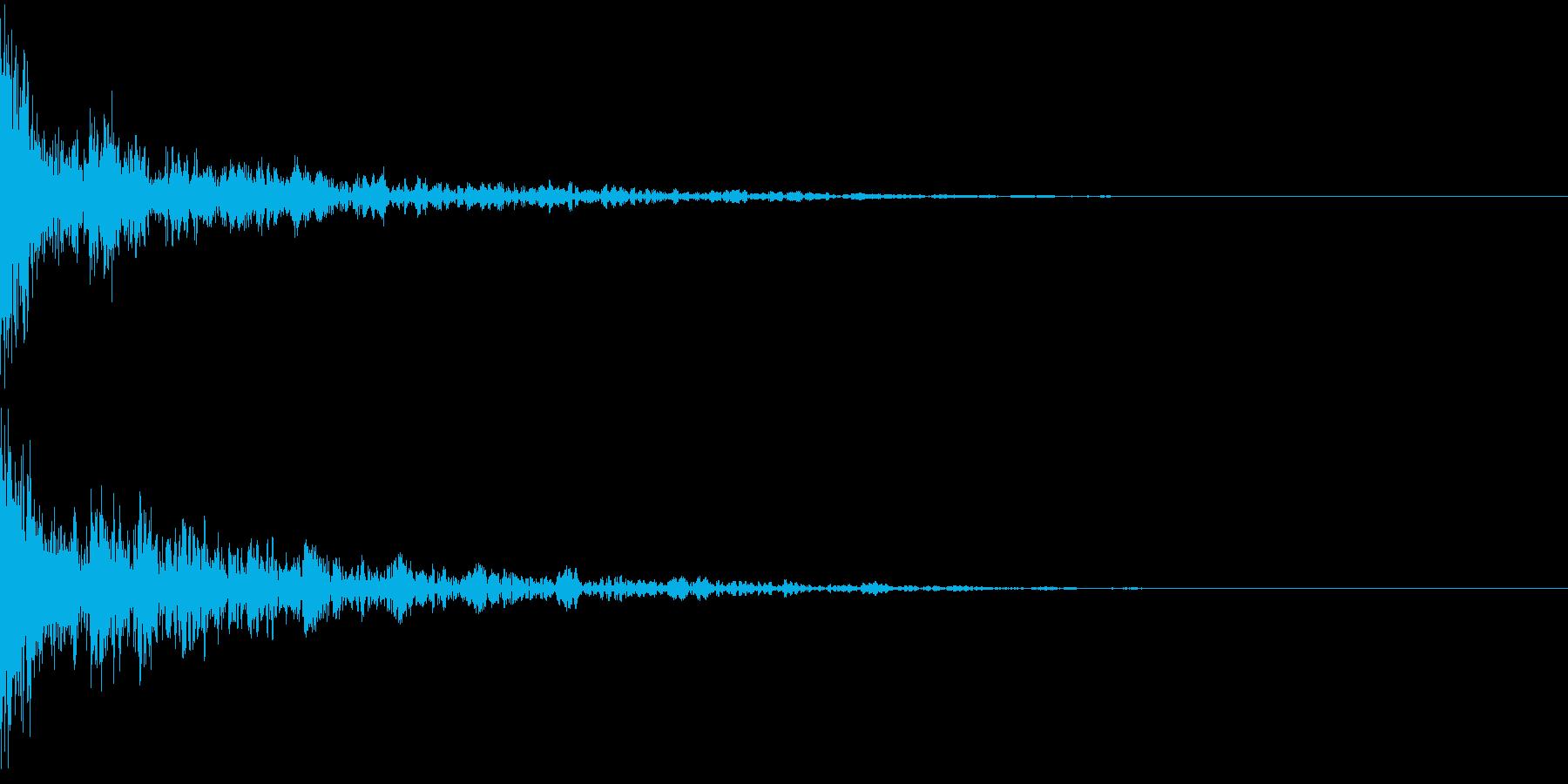 ドーン-41-2(インパクト音)の再生済みの波形