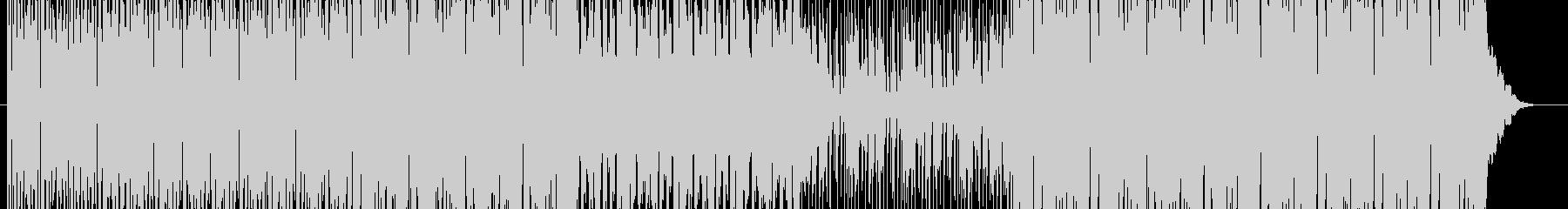 ノリノリなEDMテクノの未再生の波形
