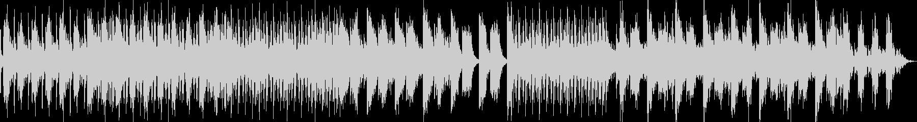 女性ボーカルとヴォコーダーのハウスの未再生の波形