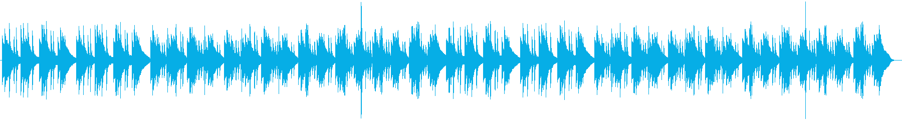 円夜景の再生済みの波形
