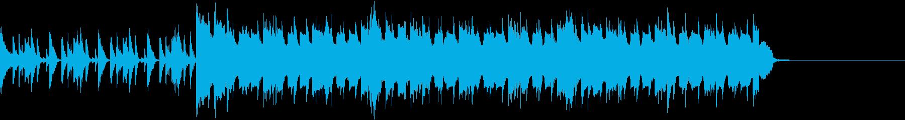 Tiktokにもぴったりなネタ系ジングルの再生済みの波形