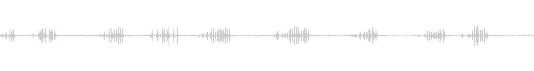 シジュウカラ鳥チャープシティパーク...の未再生の波形