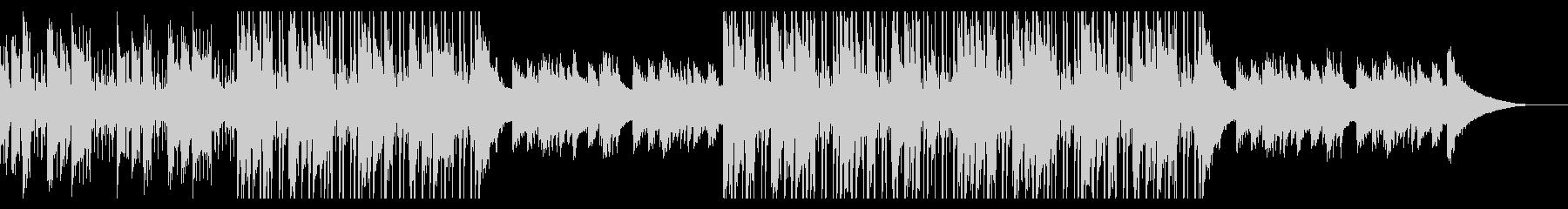 カフェの明るいジャズピアノ【キー +1】の未再生の波形