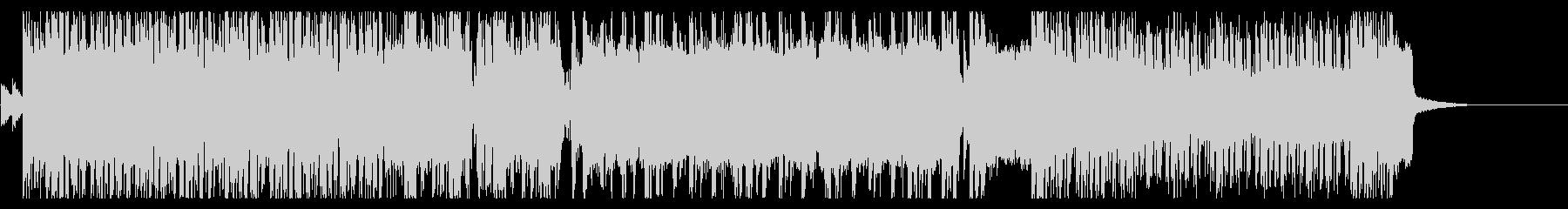 80年代風・王道スラッシュメタル Bの未再生の波形