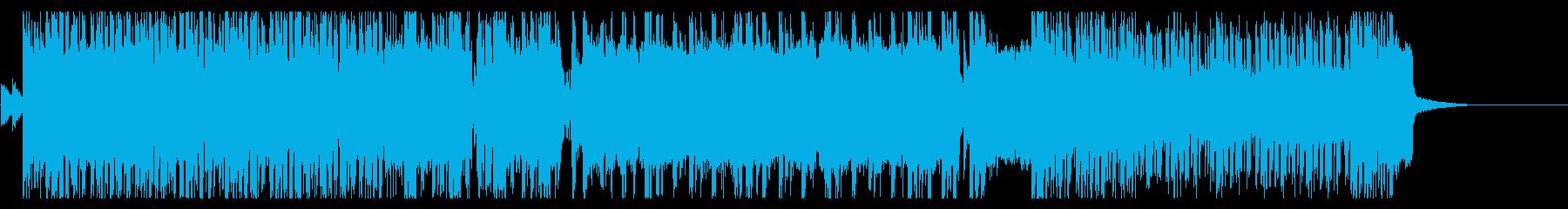 80年代風・王道スラッシュメタル Bの再生済みの波形