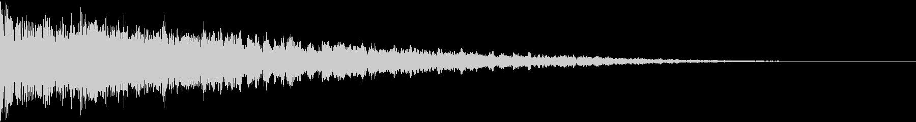 ドンとバン:都市伝説などのテロップ時4の未再生の波形
