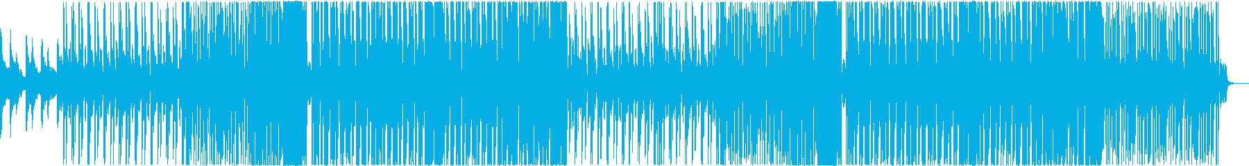 Kawaii系Future Bass 1の再生済みの波形