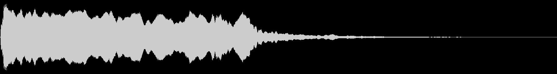 シンプル トランペット リバーブの未再生の波形