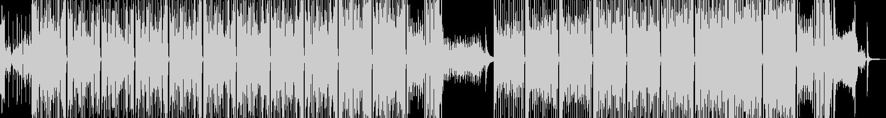 タイム制限クイズ・前半後半でドラムが変化の未再生の波形