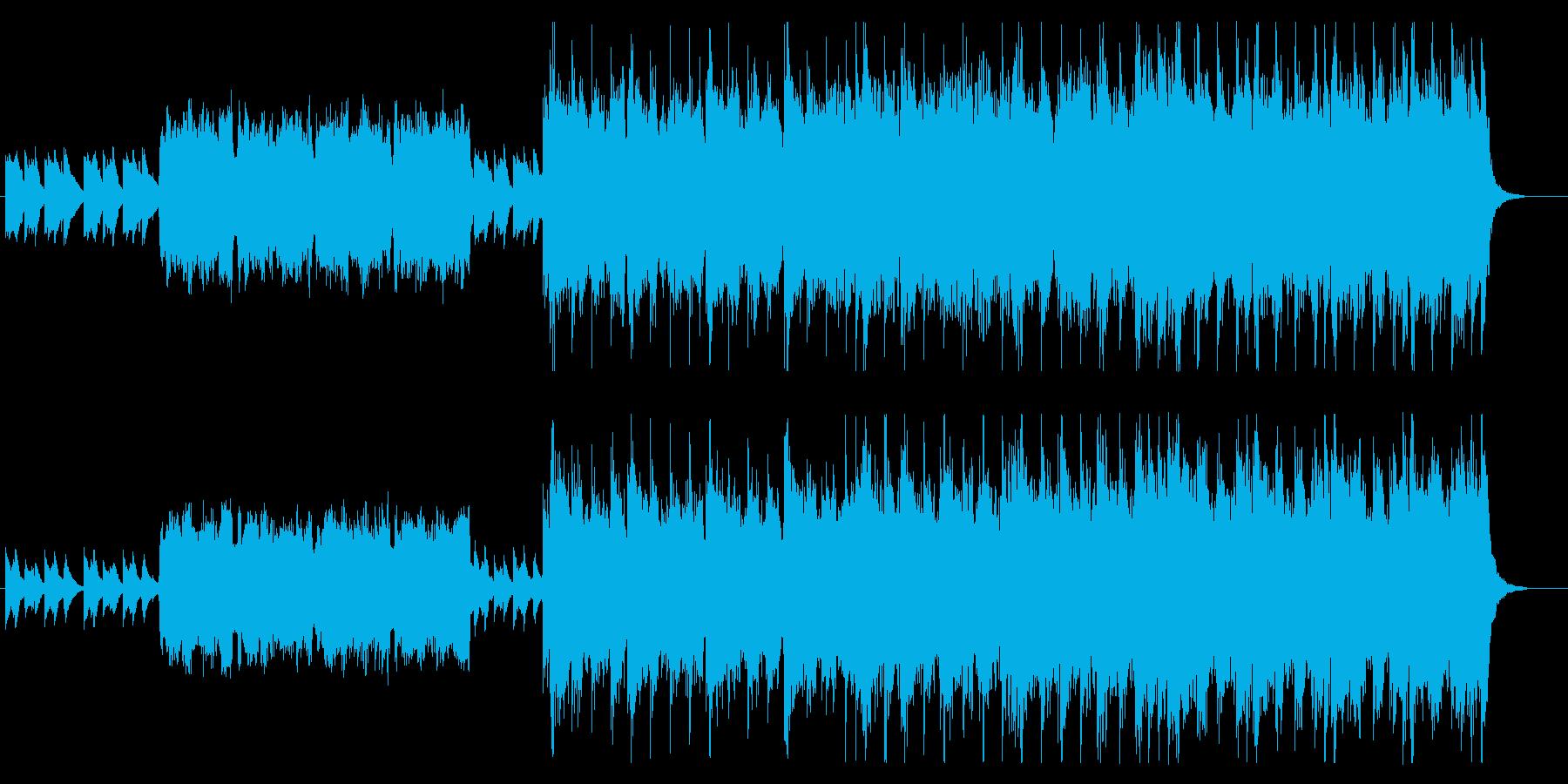 はるか太古の伝説をイメージしたBGMの再生済みの波形