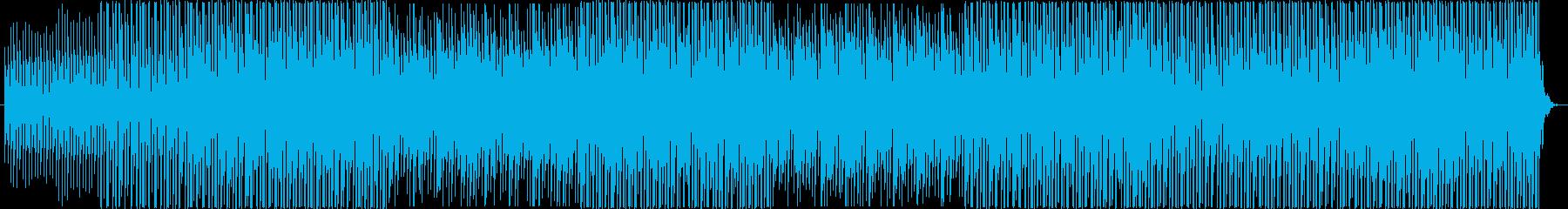 爽快感のあるテクノトラック-企業VP の再生済みの波形