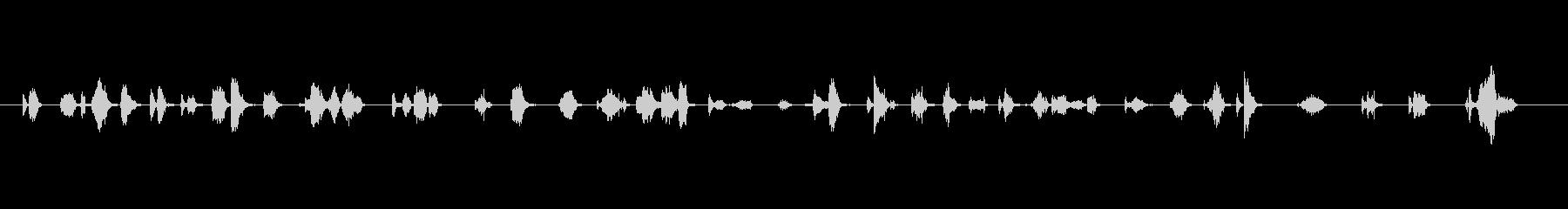 【フェルトペン03-02(書く)】の未再生の波形