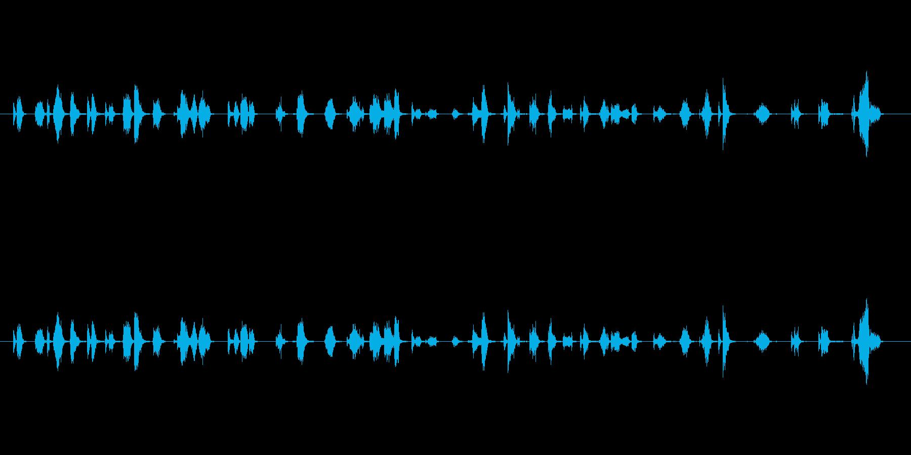 【フェルトペン03-02(書く)】の再生済みの波形