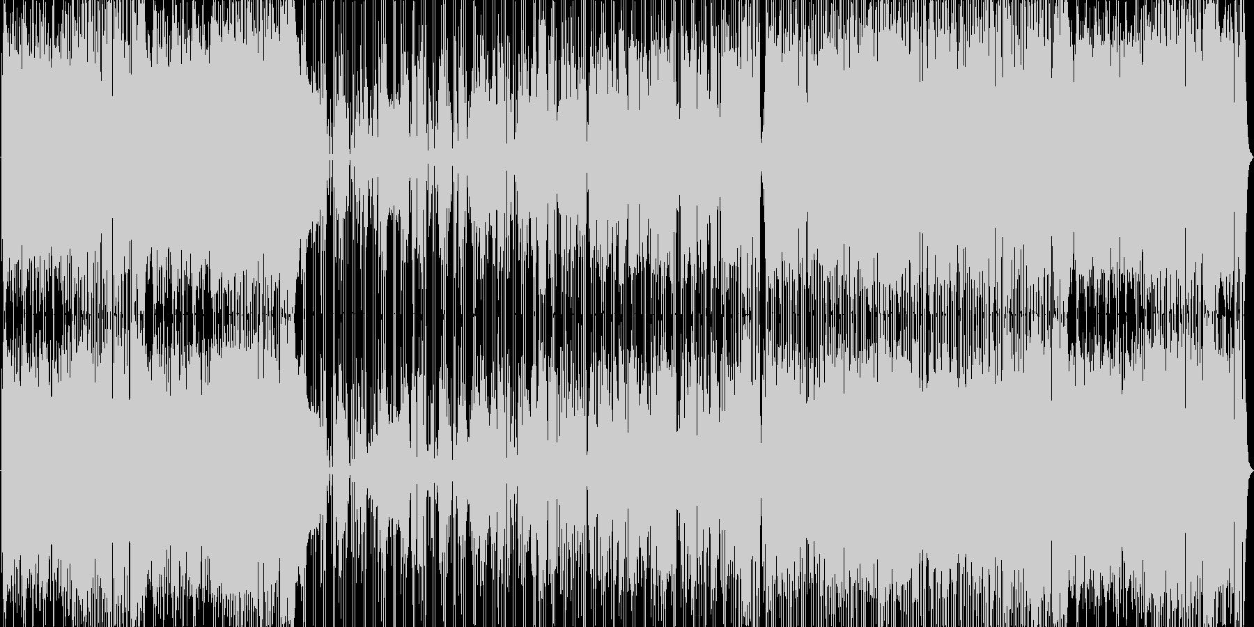 軽快なサックスが印象的な変拍子系インストの未再生の波形
