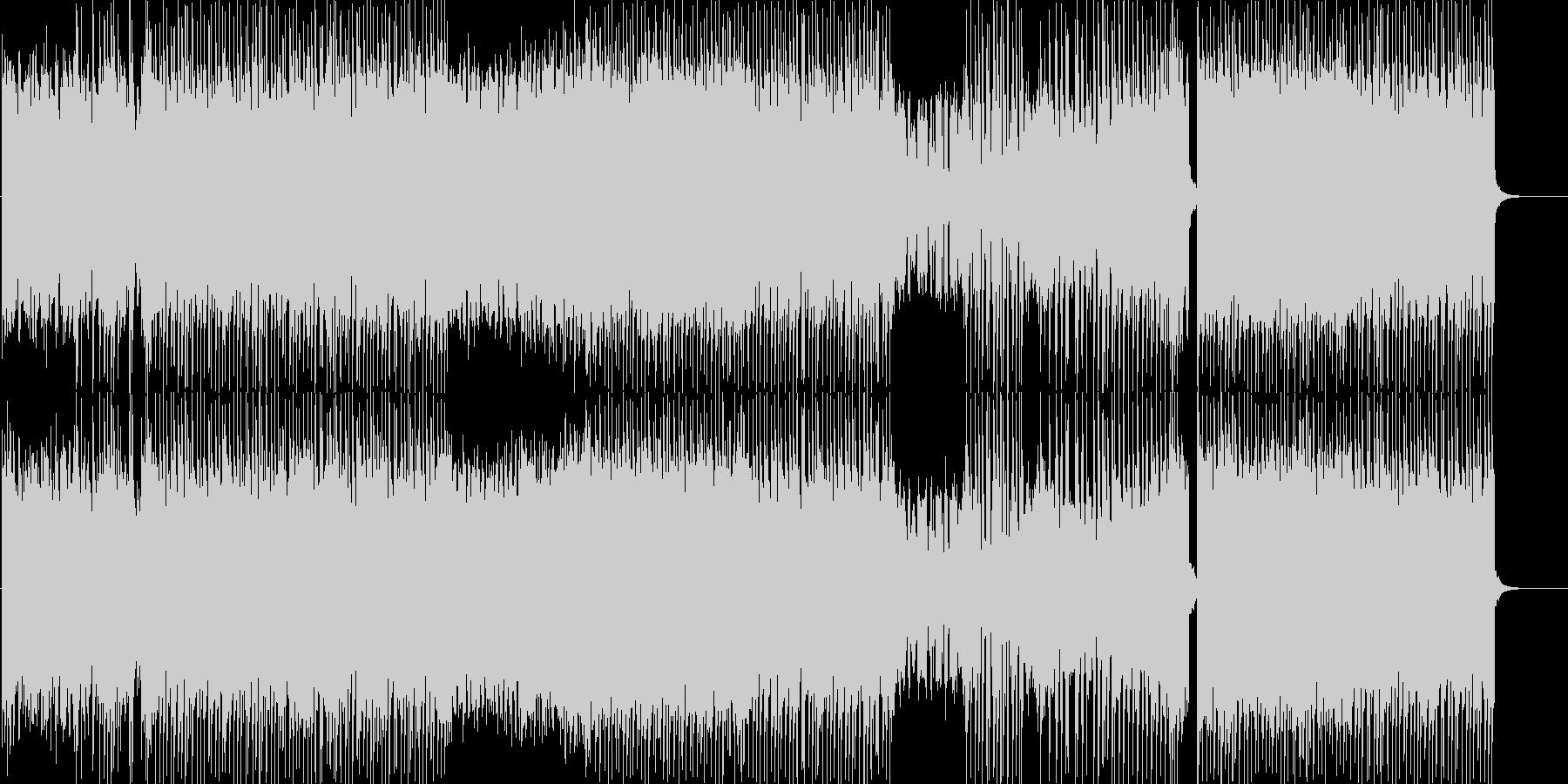 明るく可愛いポップなFutureBassの未再生の波形