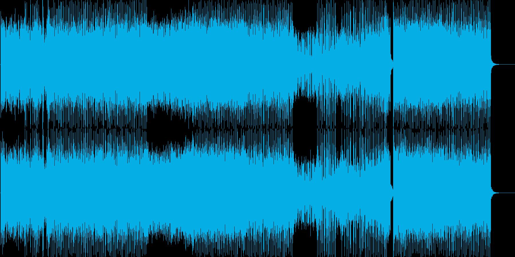 明るく可愛いポップなFutureBassの再生済みの波形