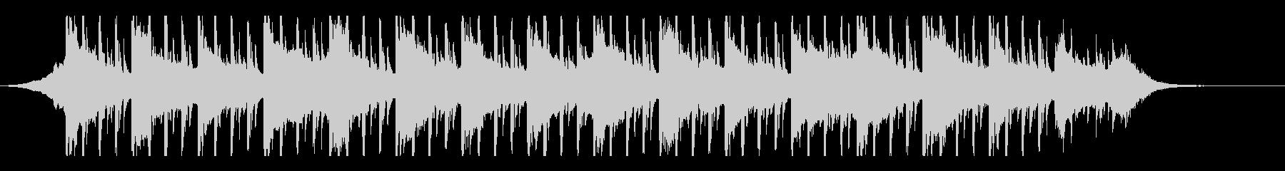 ミニマリズム(45秒)の未再生の波形