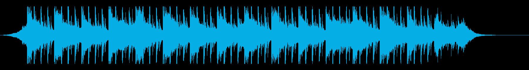 ミニマリズム(45秒)の再生済みの波形