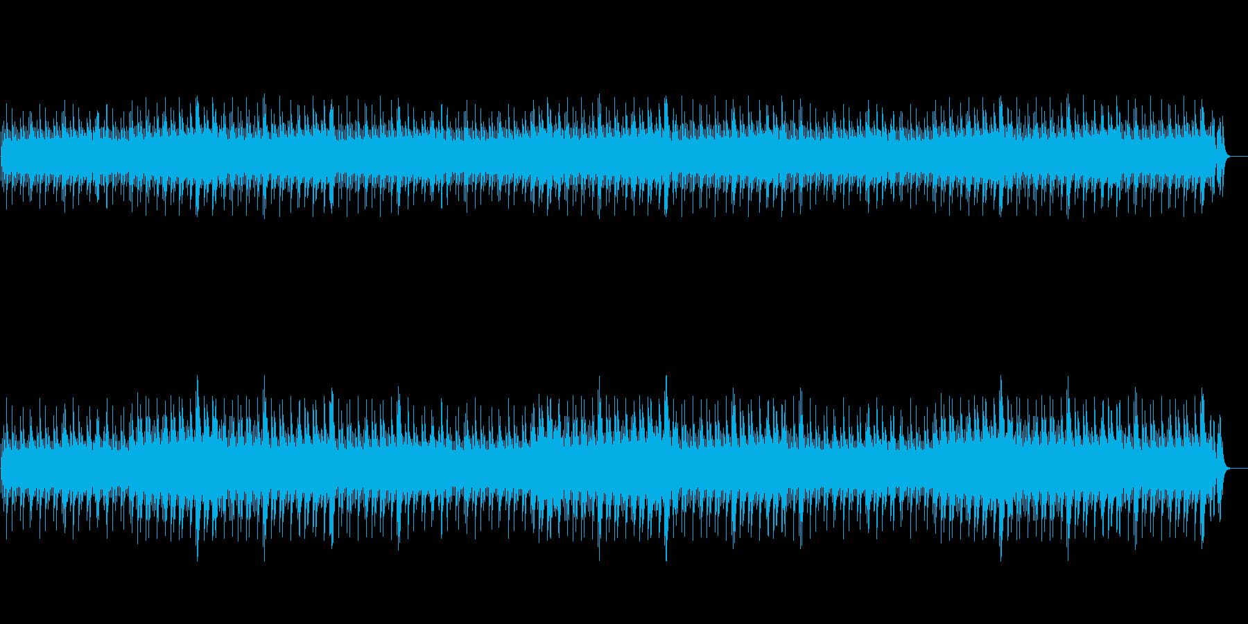 短調のオルゴール-迷宮BGMループの再生済みの波形