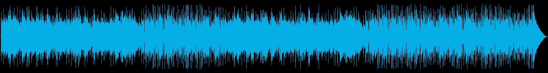 優しいソフトポップフォークの再生済みの波形