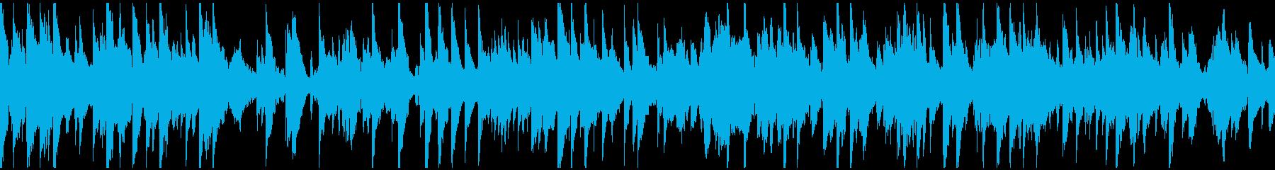 ラブシーン向けのサックス ※ループ仕様版の再生済みの波形