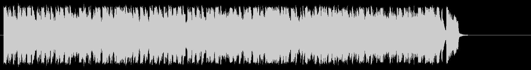 可愛くてポップ 明るいBGMの未再生の波形