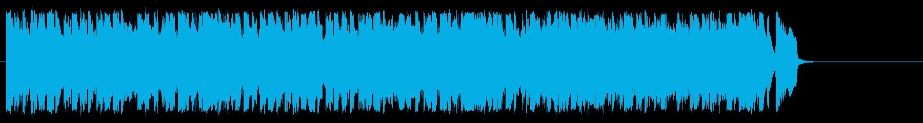 可愛くてポップ 明るいBGMの再生済みの波形