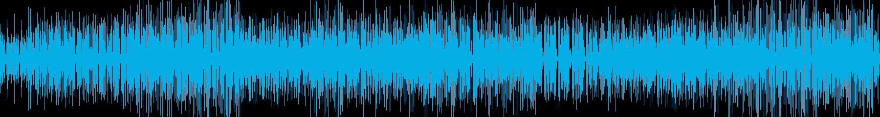 Funky Groove、一発!の再生済みの波形