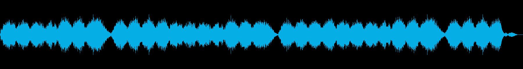 宇宙の神秘のアンビエントの再生済みの波形