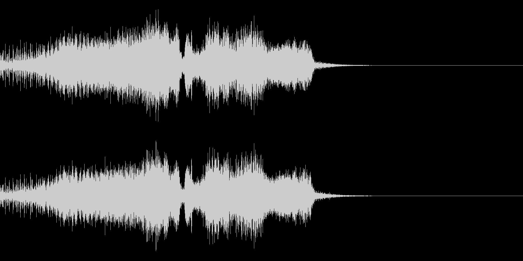 スパーク音-23の未再生の波形