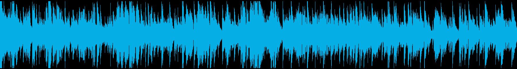 生演奏アルトサックス低速ジャズ※ループ版の再生済みの波形