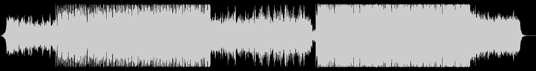 決意の疾走感シネマティックBGM2:42の未再生の波形