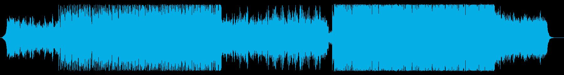 決意の疾走感シネマティックBGM2:42の再生済みの波形
