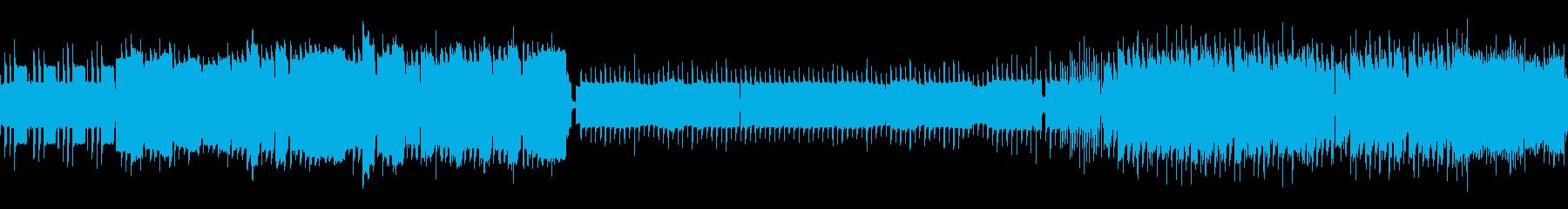 冒険のテーマ・フィールド曲 レトロ風の再生済みの波形