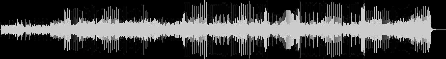 ピアノテクノポップ。の未再生の波形