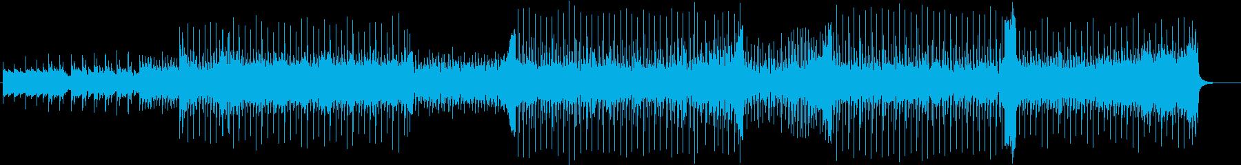 ピアノテクノポップ。の再生済みの波形