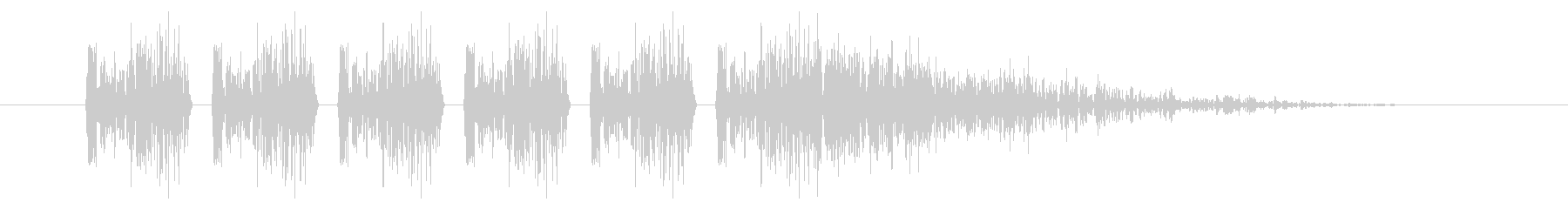 SNES シューティング01-07(ダメの未再生の波形