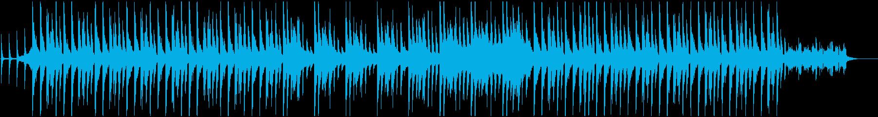 クリスマスをイメージしデジタル調BGMの再生済みの波形