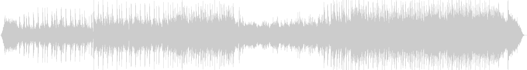 ピアノとシンセが織りなすバラードの未再生の波形