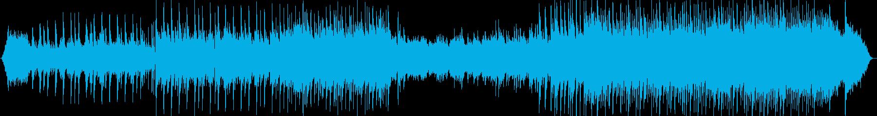 ピアノとシンセが織りなすバラードの再生済みの波形