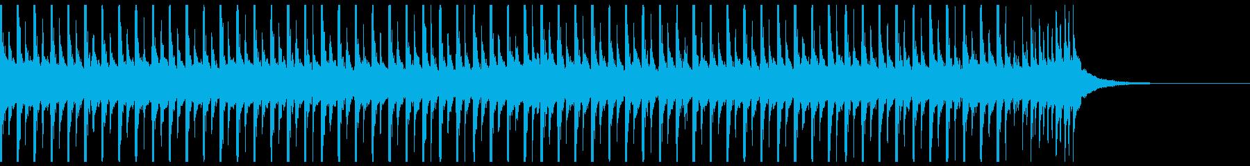 旅行(35秒)の再生済みの波形