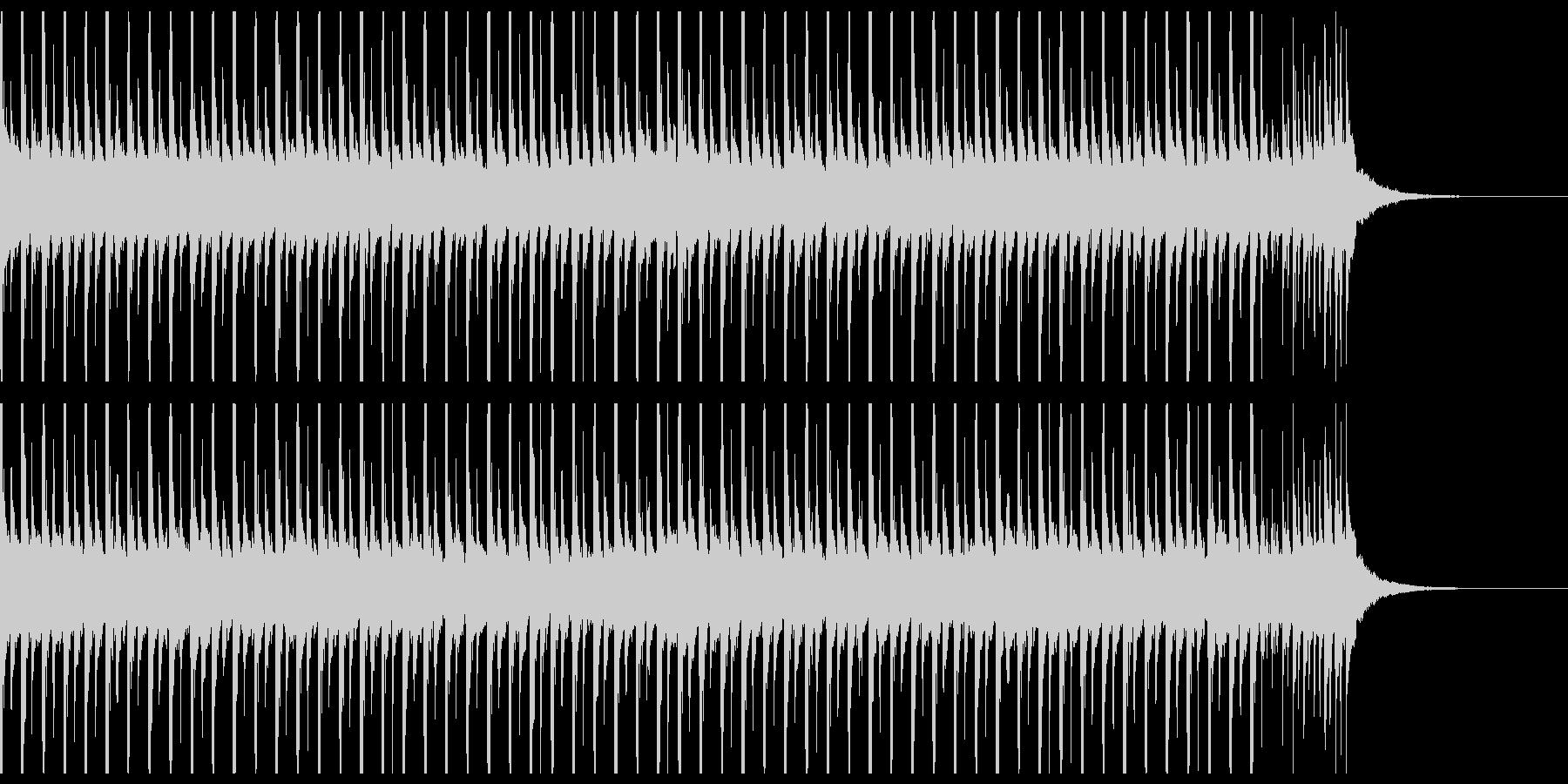 旅行(35秒)の未再生の波形