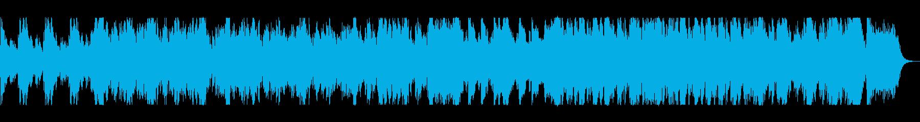 壮大な迫力の弦楽器シンフォニーテクノの再生済みの波形