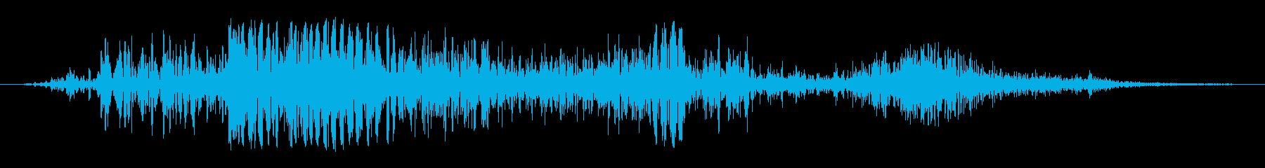 ハードボディフォールオンダートの再生済みの波形