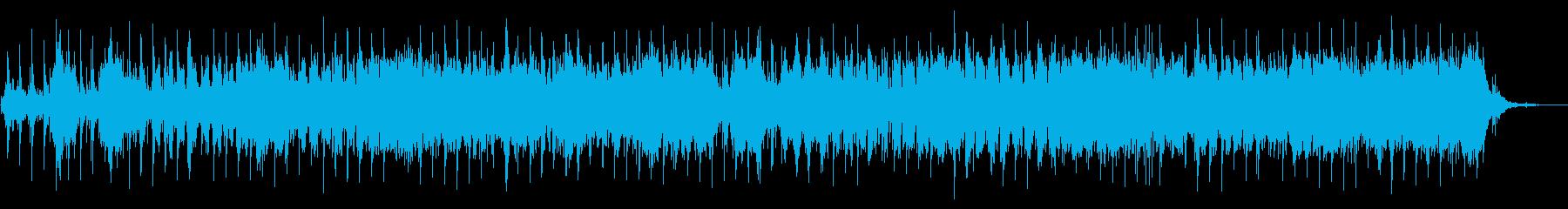 緊張感のあるインドの音楽の再生済みの波形