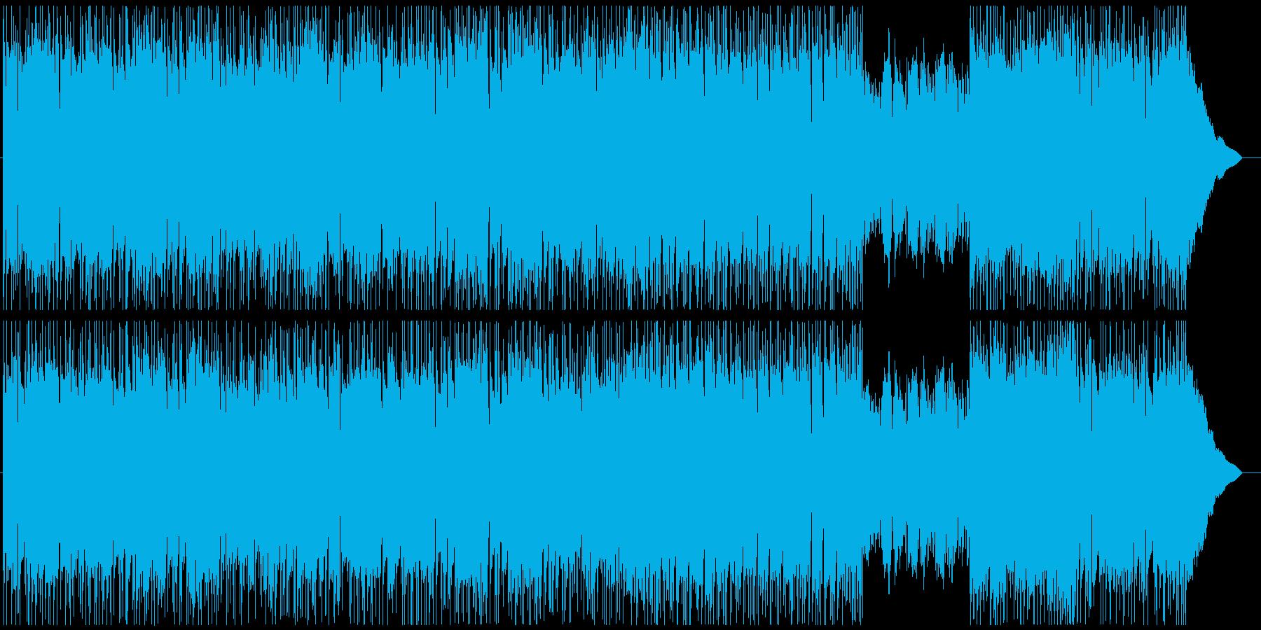 バンド生録/西海岸ライク&シンプルロックの再生済みの波形