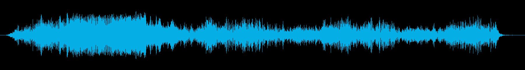 ノイズ ぐらつきグリッチライザーロ...の再生済みの波形