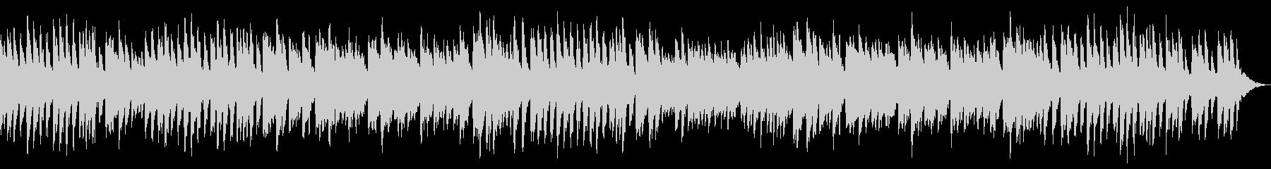 ピアノの練習シーン等に最適なピアノソロの未再生の波形